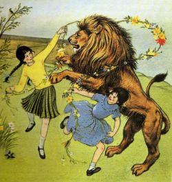Aslan Lucy Susan