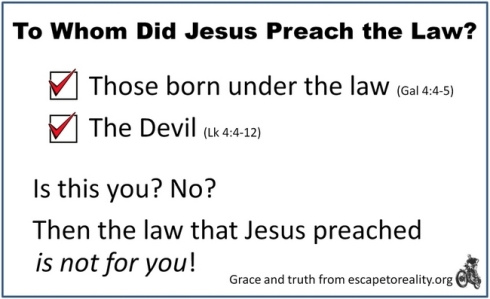 Is Christ the end of the law for you?