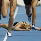 Fallen-runner