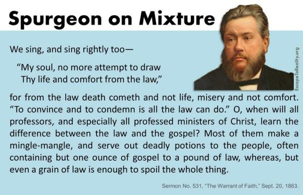 Spurgeon on mixture