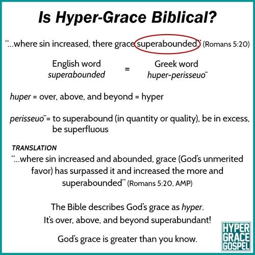 Biblical hyper-grace