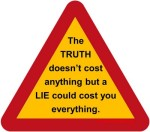 Truth v lie