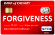 Forgiveness debit card