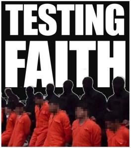 Testing faith