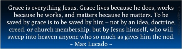 Grace is Jesus