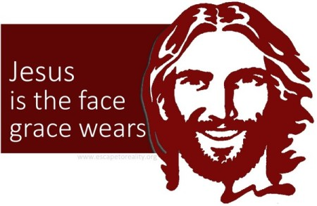 Jesus grace face