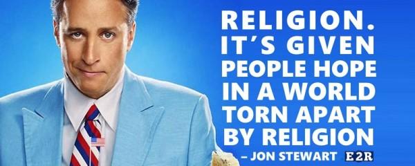 Jon Stewart on Religion