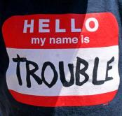 trouble-name