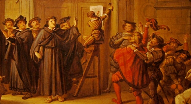 martin luther 95 theses painting Martin luther posting his 95 theses giclee print find art you love and shop high-quality art prints, photographs, framed artworks and posters at artcom 100.