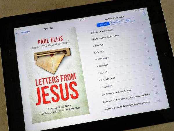 LFJ on iPad